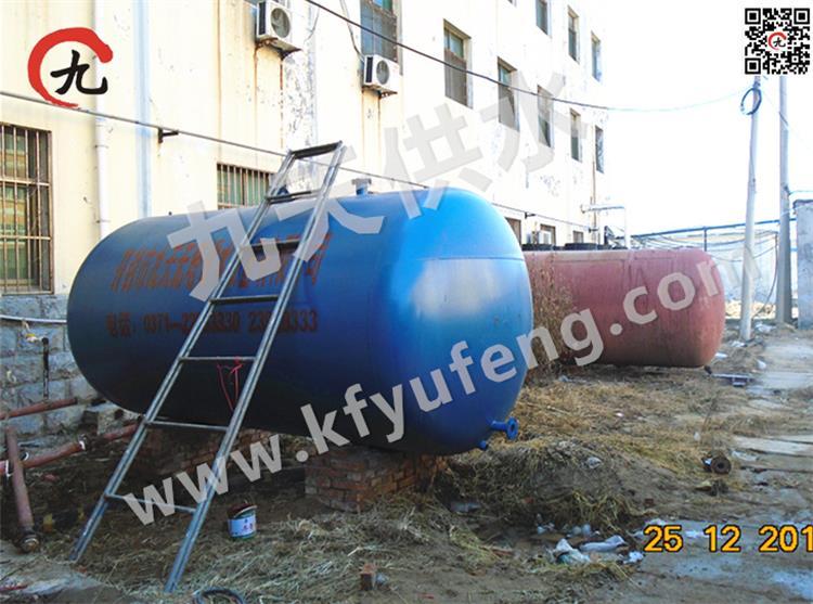 范县医院10吨无塔供水安装